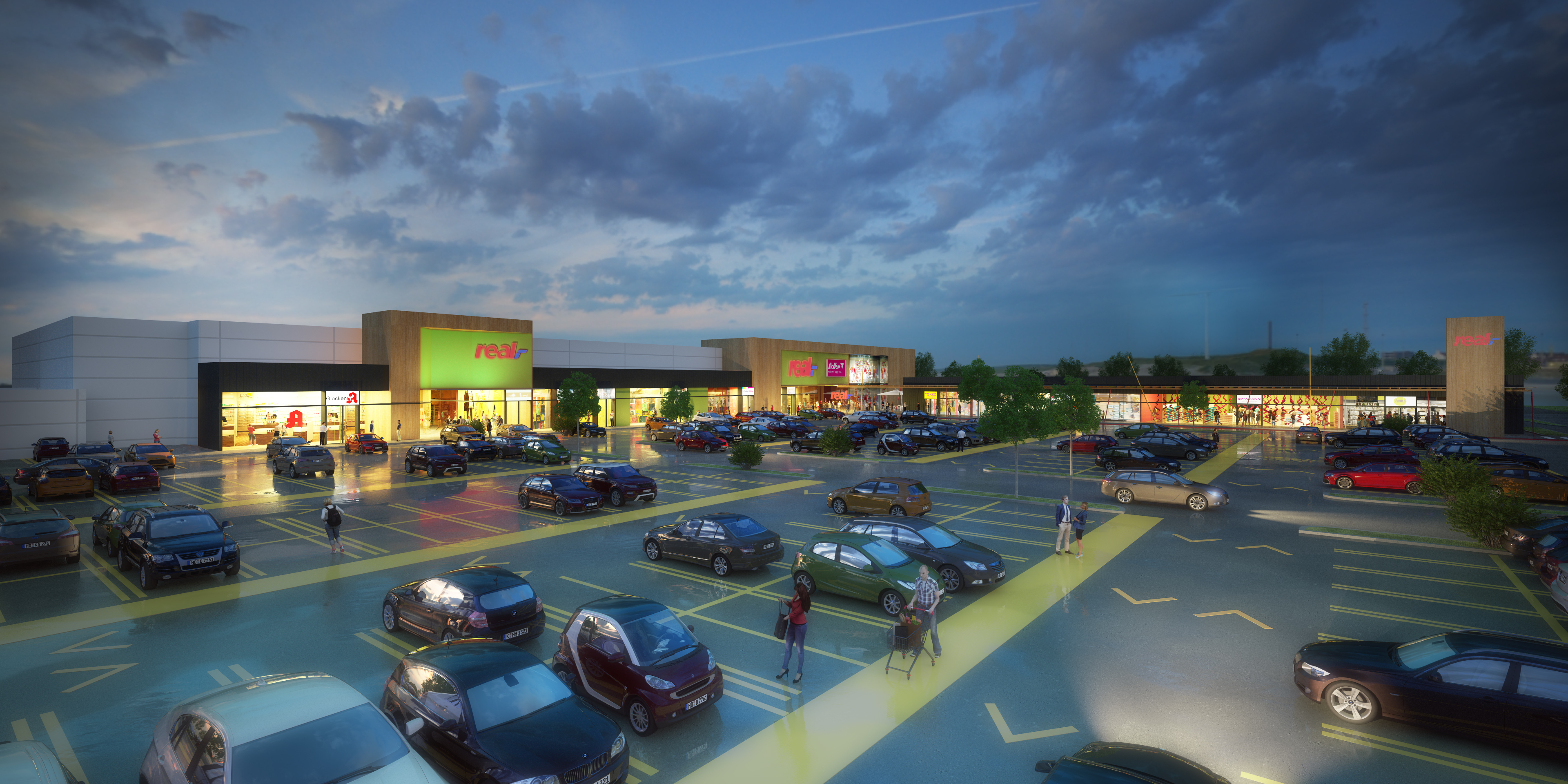 Edingen-Neckarhausen: Real becomes retail park