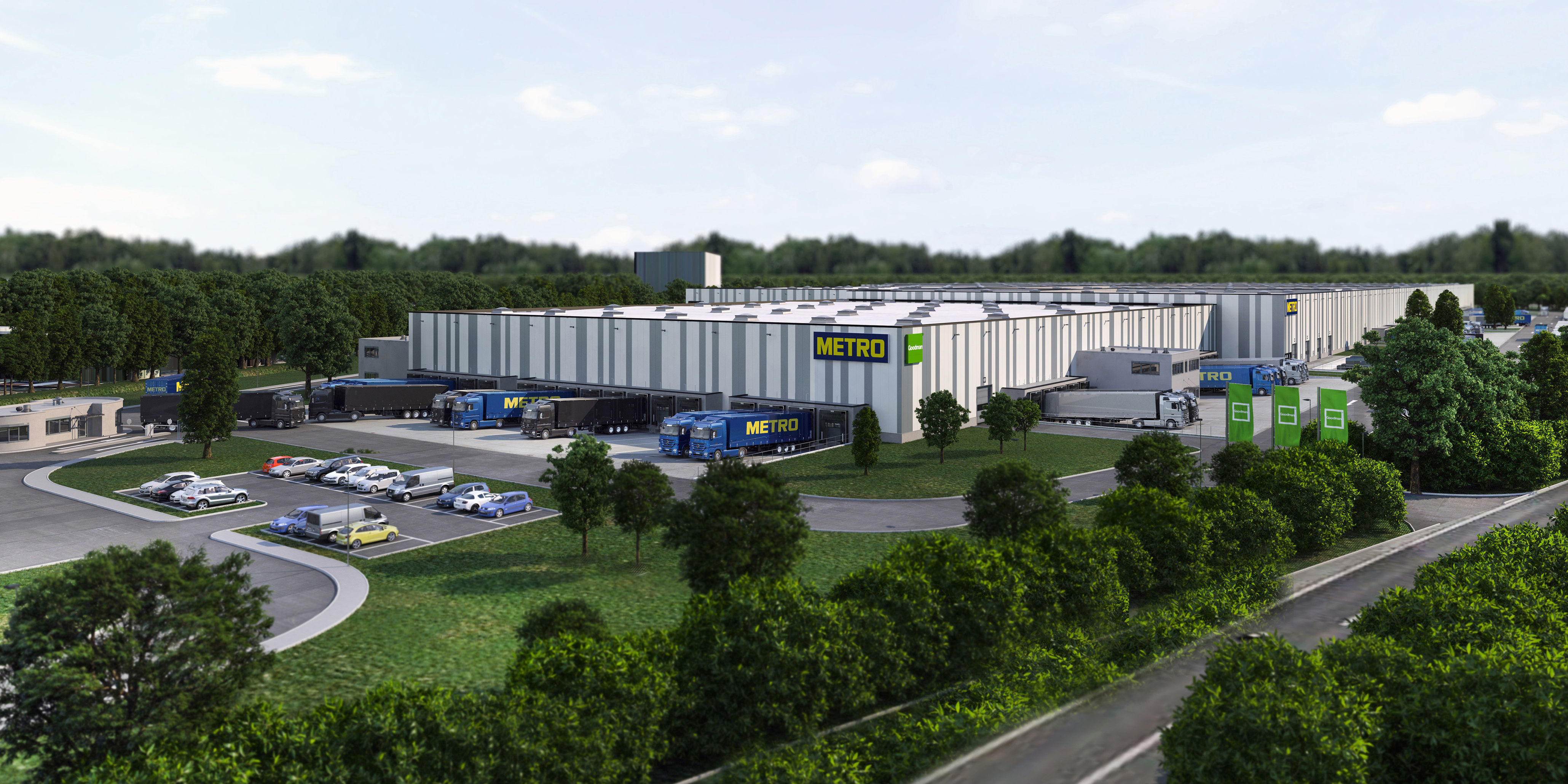 Goodman to develop retail logistics centre for METRO GROUP in Marl, Germany