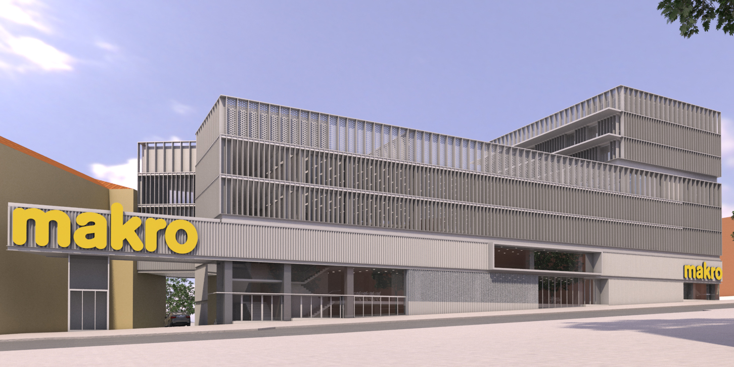 Madrid Makro frontview